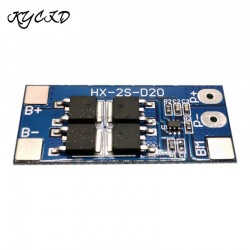 BMS 2S 7.4V 8.4V 10A 13A Max Lithium 18650 Battery Charge Protection Board Equalizer Balance BMS