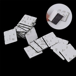 10PCS 3M Double Sided Foam Tape Strong Pad Mounting Rectangle Adhesive Tape