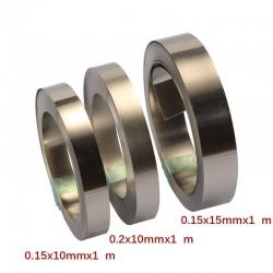 10/15mm x0.15/0.2 1M Nickel Strip Tape For Li 18650 Battery Spot Welding