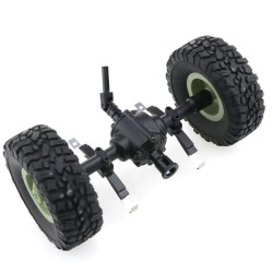 JJRC Central Bridge Axle For Q60 1/16 2.4G Off-Road Military Trunk Crawler RC Car