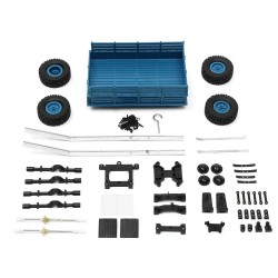 WPL Trailer Set For WPL B1 B24 B16 C24 1/16 4WD 6WD RC Car Parts