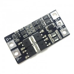 2S 7.4V Lithium Battery 2 Cell 18650 Protection Board with Balance 20A BMS Li-ion