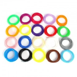 8 Pack x 10m ABS Filament 1.75mm For 3D Printer Pen 8 Colours