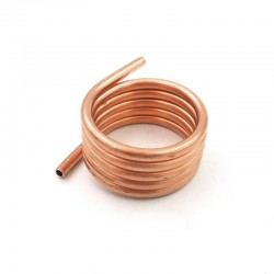 895 Brushed Motor Water-cooled Sleeve Pure Copper Tube Circulating Water-cooling Ring for DIY RC Boat