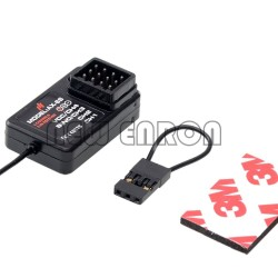 AX-6S 2.4G 4CH RC Car Boat Receiver for AUSTAR RC Transmitter