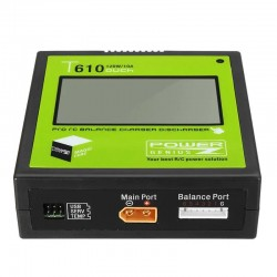 Power Genius PG T610 120W 10A Lipo Battery Balance Charger Touch Screen Support 4.35-4.40V LiHV