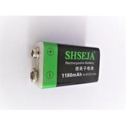 9V Battery 1180mAh micro USB Rechargeable Lipo Battery USB 9V Battery