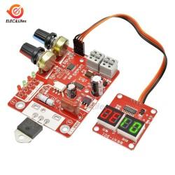 100A Digital Spot Welding Machine Control spot Welder AC 220V to 9V Transformer Controller Board Timing Current Display