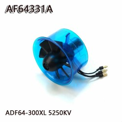 AEORC 64mm Ducted Fan System EDF AF64331A for Jet Plane with Brushless Motor 5250KV