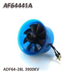 AEORC 64mm Ducted Fan System EDF AF64441A for Jet Plane with Brushless Motor 3900KV