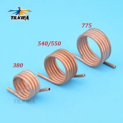 RC Boat Brush Motor Water Cooling Jacket Copper Water Cooling Ring For 380 540/550 775 Brush Motor
