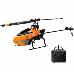 Eachine E129 2.4G 4CH 6-Axis Gyro Altitude Hold Flybarless RC Helicopter RTF - Mode 2