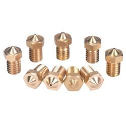 3D Printer Parts V6&V5 J-Head brass nozzle extruder nozzles For 3.0mm filament
