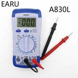 A830L LCD Digital Multimeter