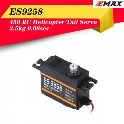 EMAX ES9258 High Speed Digital Tail Servo Meatl Gear 2.5kg 0.08sec 25g