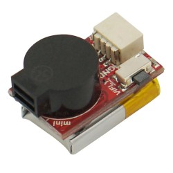 2.7g Vifly Finder Mini 5V Buzzer Built-in 40mAh LiPO Up to 100dB for RC FPV Racing Drone