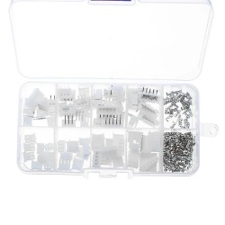 150pcs 2/3/4/5Pin JST-XH 2.54mm Dupont Connector Male/Female Wire Cable Jumper Pin Header Housing Connector Terminal Kit