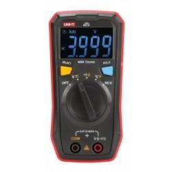 UNI-T ψηφιακό πολύμετρο τσέπης UT123T, NCV, DC/AC