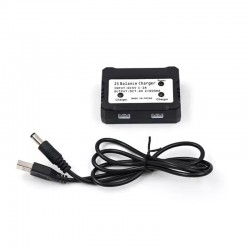2S 7.4V Balance Charger Box Charging Adapter 2 in 1