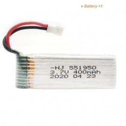 3.7V 400mAh Rechargeable Batteries Charger Sets For WLTOYS V911 V911S/V966/XK K100 RC Helicopter