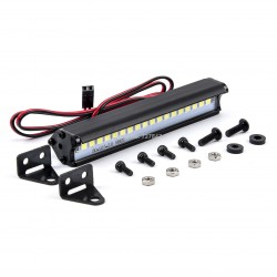 1:10 Roof LED Light Bar Lamp Searchlight 83mm for 1/10 Traxxas TRX4 Defender TRX6 G63 Axial SCX10 RC Crawler Car