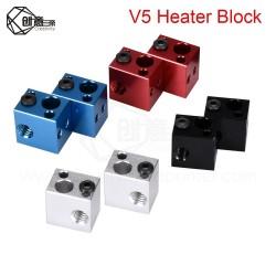 V5 Heater Block Aluminum Block