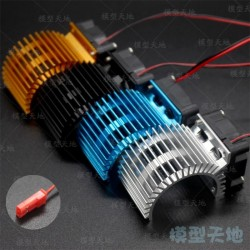 RC 1/10 540 550 Motor Heat Sink With Cooling Fan 03300 3650 3660 3674 HSP 03011 107051 7014