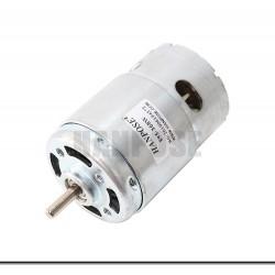 HANPOSE 895-360W DC Motor DC 12V 24V 6000-12000 RPM Ball Bearing Large Torque High Power Low Noise