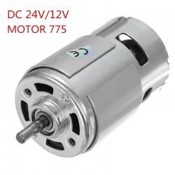 DC 12V/24V 15000RPM High Speed Large torque DC 775 Motor
