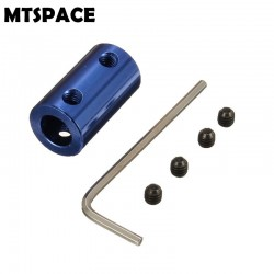 Coupling 5mm to 8mm Shaft 5x8mm Aluminium Alloy Couplings with Hex Wrench+Screws