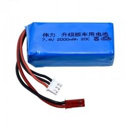 Upgrade 7.4V 2000mah LiPo Battery For Wltoys V353 A949 A959 A969 A979 k929 903048 7.4v Battery