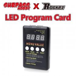 Surpass Hobby LED Programing Card For Mystery ZTW NOVAK, LRP , ORION RC CAR Brushless ESC
