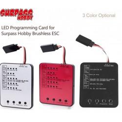 SURPASS HOBBY LED Programming Card for RC Car ESC Brushless Electronic Speed Controller