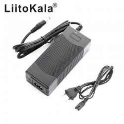 LiitoKala 54.6V/2A 18650 Lithium Battery Charger DC 5.5*2.1mm