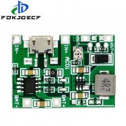 Lithium Li-ion 18650 3.7V 4.2V 9V 5V 2A Battery Charger Board Adjustable DC-DC Step Up Boost Module TP4056