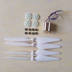 Motor engines with metal gear for Hubsan X4 H502S H502E H502T H507A RC Quadcopter drone Spare Parts