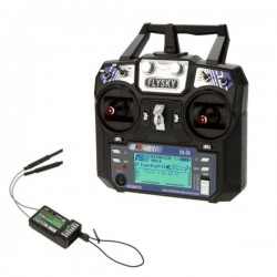 FlySky FS-i6 2.4G 6CH upgrade to 10ch AFHDS2A RC Radion Transmitter With FS-iA6B Receiver