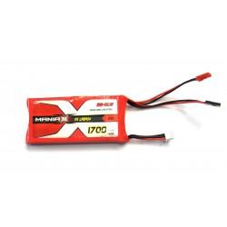 ManiaX 1700mAh 6.6V 25C LiFePO4 RX