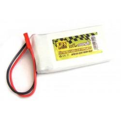 GPX Extreme 3.7V 1000MAH 30C Li-PO BATTERY PACK 1S