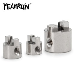 3/4/5mm Stainless Steel Drive Dog Shaft Crutch Connector Paddle Fork for RC Electric Boat Model Accessories