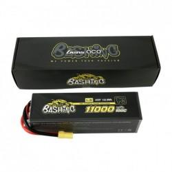 Gens ace 11000mAh 14.8V 100C 4S2P Lipo Battery Pack with EC5-Bashing Series