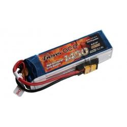 Gens Ace 1450mAh 22.2V 45C 6S1P Lipo Battery Pack
