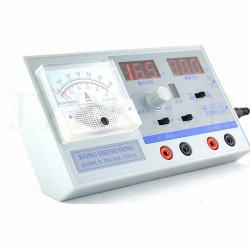 Dual Display Adjustable Digital Regulated Mini DC Power Supply 0-15V 0-3A Maintenance Tool