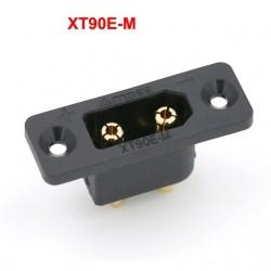 XT90E-M Brass Gold Plated Battery Plug Fixed Black