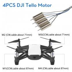DJI RYZE Tello Drones Motor engine Repair parts 4Pcs 1set