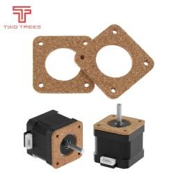 4PCS Nema 17 Stepper Damper Nema17 Stepper Motor Damper Cork Gasket Reprap Isolator 42 Motor Absorber For 3D Printer Motor