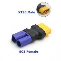Amass Adapter XT90-M to EC5-F Plug RC Lipo Battery