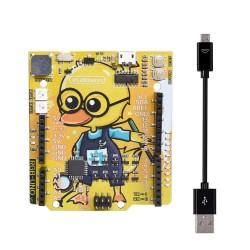 RGBDuino UN0 V1.1 Geek Duck Development Board ATmega328P CH340C Micro USB Vs UN0 R3 for Raspberry Pi 3B Raspberry Pi 4B