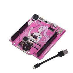 RGBDuino UN0 V1.2 Jenny Development Board ATmega328P Chip CH340C VS UN0 R3 Upgrade for Raspberry Pi 4 Raspberry Pi 3B