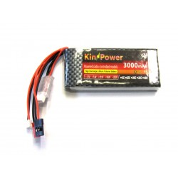 2S 7.4V 3000mah 8C Lipo Battery For Radiolink RC3S RC4GS RC6GS Transmitter